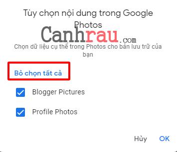 Hướng dẫn sử dụng Google Takeout hình 3