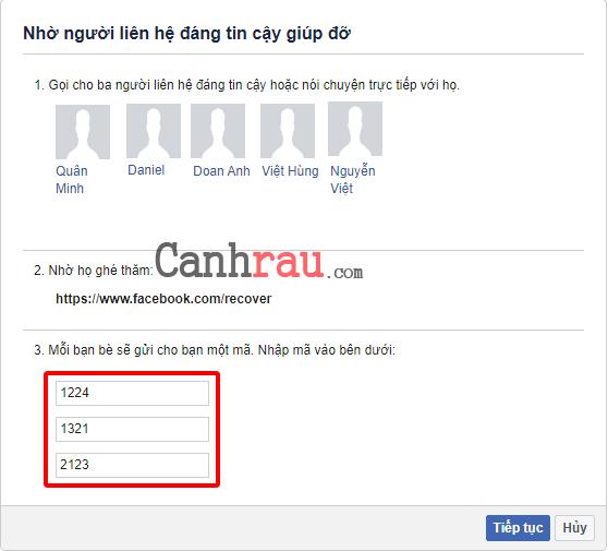 Hướng dẫn sửa lỗi đăng nhập Facebook hình 13