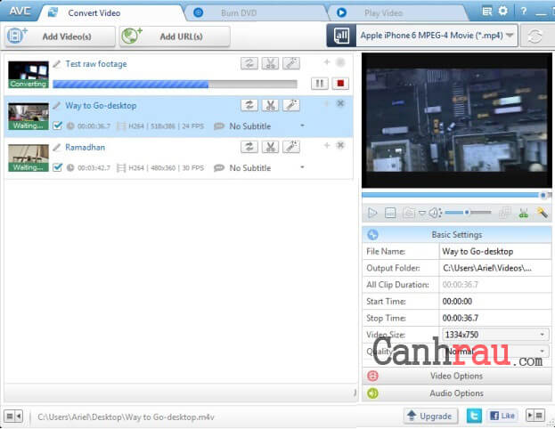 Top phần mềm đổi đuôi video tốt nhất hình 3