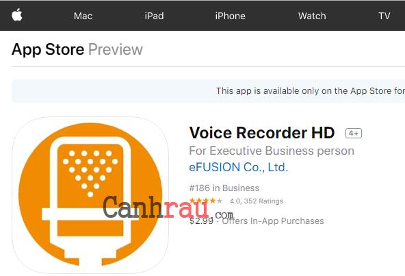 Top phần mềm ghi âm cuộc gọi cho iPhone hình 1