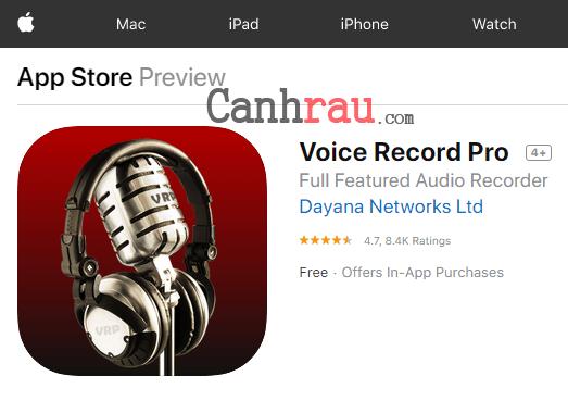 Top phần mềm ghi âm cuộc gọi cho iPhone hình 3