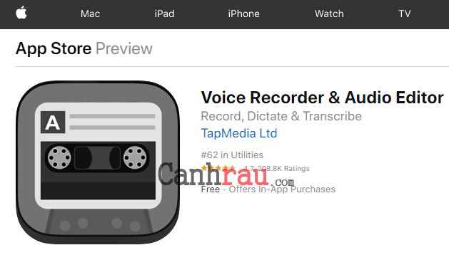 Top phần mềm ghi âm cuộc gọi cho iPhone hình 6