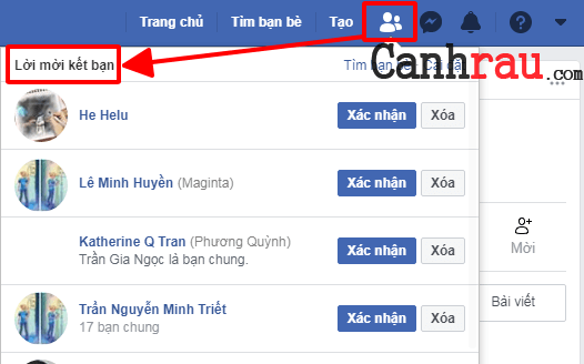 Cách hủy tất cả lời mời Facebook mà bạn đã gửi hình 1