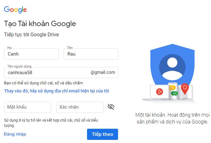 Cách sử dụng Google Drive hình 1