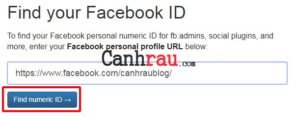Cách tìm ID Facebook trên máy tính và điện thoại hình 8