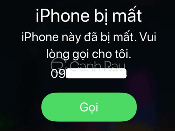 Cách tìm lại điện thoại iPhone bị mất hình 8