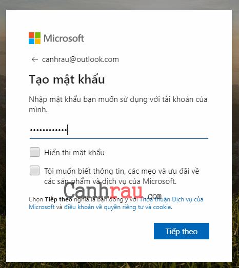 Hướng dẫn cách tạo tài khoản Email hình 2