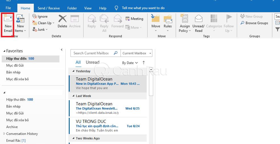 Phần mềm Microsoft Outlook là gì hình 9