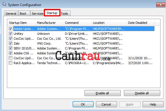 Sửa lỗi máy tính bị chậm trên Windows 10 8 7 hình 3