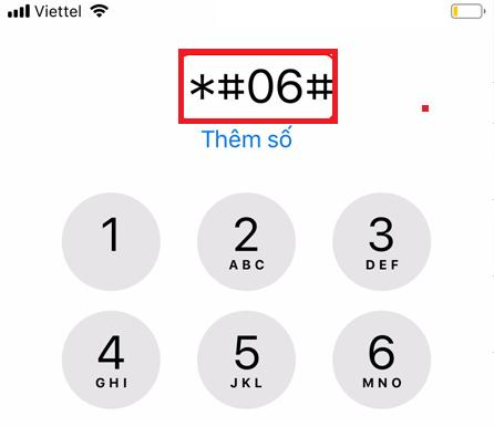 Cách check imei iphone hình 3
