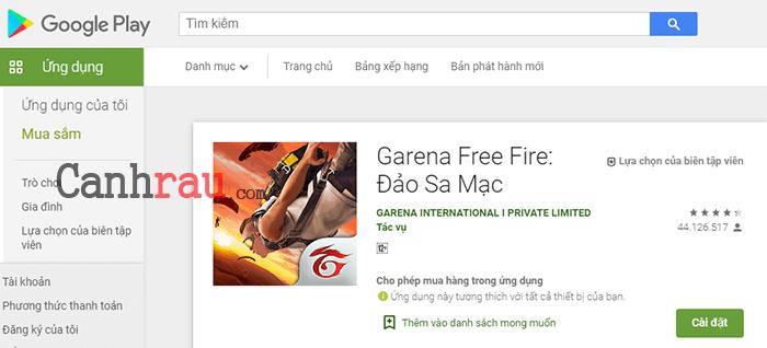 Cách chơi game Free Fire trên máy tính hình 6