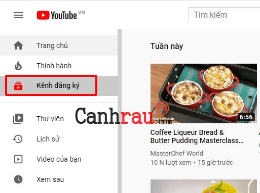 Cách đăng ký kênh Youtube hình 2