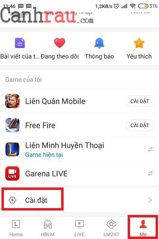 Cách đổi mật khẩu Garena mới nhất hình 5