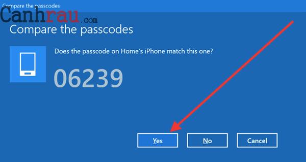 Cách kết nối iPhone với máy tính hình 12
