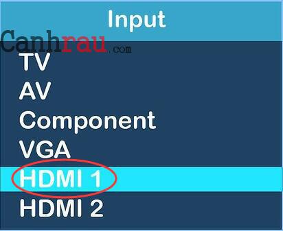 Cách kết nối Laptop với TV hình 2