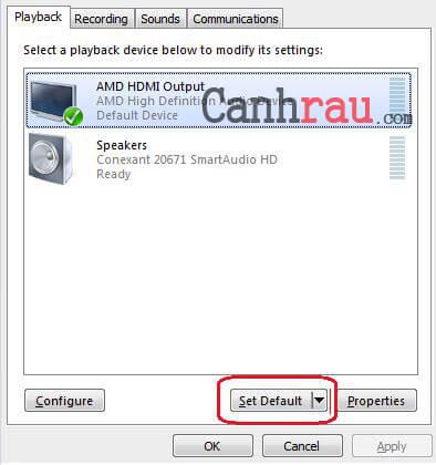 Cách kết nối Laptop với TV hình 9