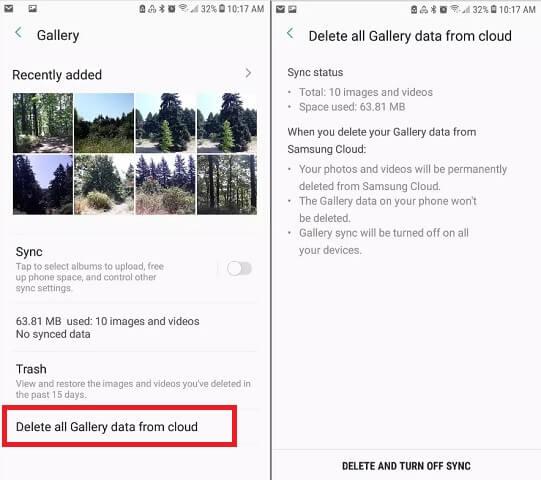 Cách sử dụng Samsung Cloud hình 10