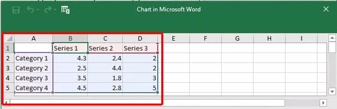 Cách vẽ biểu đồ trong Word hình 7