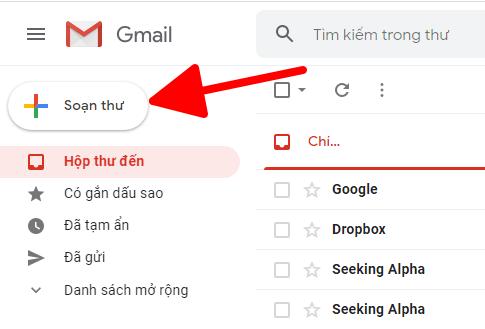 Hướng dẫn gửi mail bằng Gmail hình 1