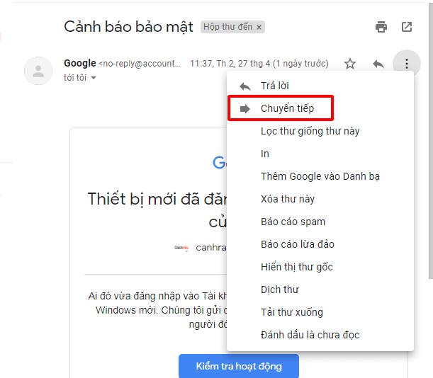Hướng dẫn gửi mail bằng Gmail hình 18