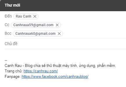 Hướng dẫn gửi mail bằng Gmail hình 4