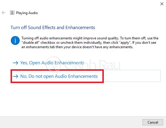 Hướng dẫn sửa lỗi Laptop không nhận tai nghe hình 17