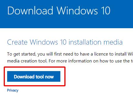 Hướng dẫn tải Windows 10 32bit 64bit mới nhất hình 1
