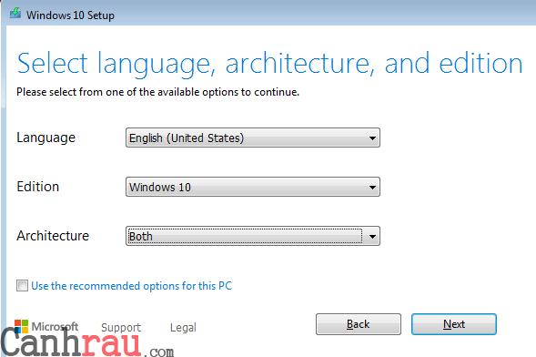 Hướng dẫn tải Windows 10 32bit 64bit mới nhất hình 4