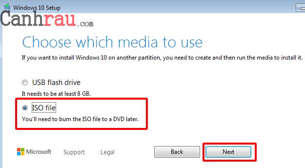Hướng dẫn tải Windows 10 32bit 64bit mới nhất hình 5