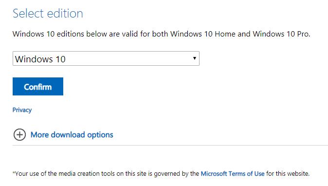 Hướng dẫn tải Windows 10 32bit 64bit mới nhất hình 8