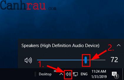 Sửa lỗi laptop không nhận tai nghe hình 1