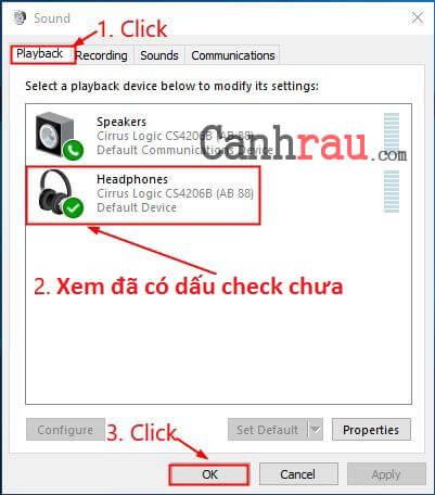 Sửa lỗi laptop không nhận tai nghe hình 5