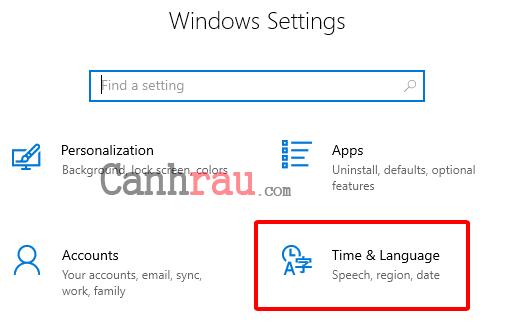 Cách chỉnh thời gian trên Windows 10 hình 5