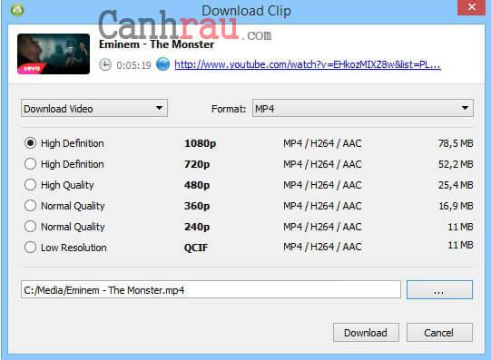 Cách chuyển nhạc Youtube sang MP3 hình 4