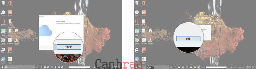 Cách đăng nhập iCloud trên máy tính Windows hình 2