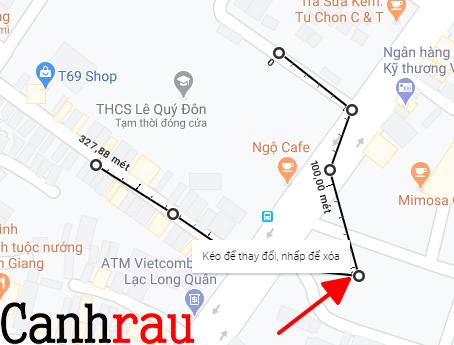 Cách đo khoảng cách trên Google Maps hình 4