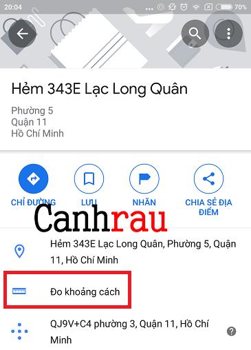 Cách đo khoảng cách trên Google Maps hình 6