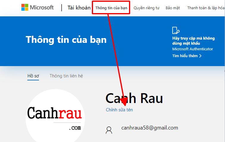 Cách đổi tên user máy tính hình 12