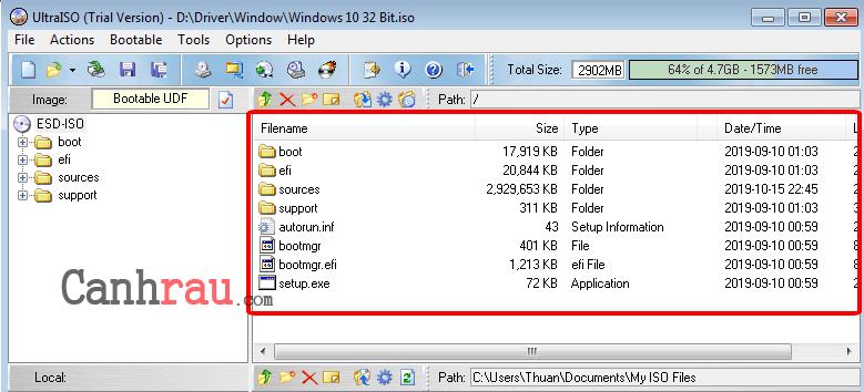 Cách mở file ISO hình 4