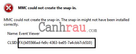 Cách sửa lỗi mmc could not create the snap-in trên Windows hình 7