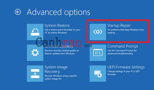 Cách sửa lỗi repair Windows 10 hình 4