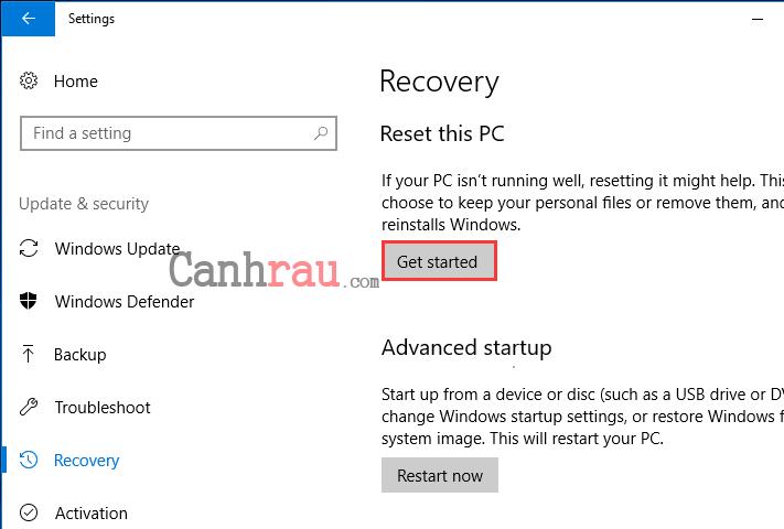 Cách sửa lỗi repair Windows 10 hình 5