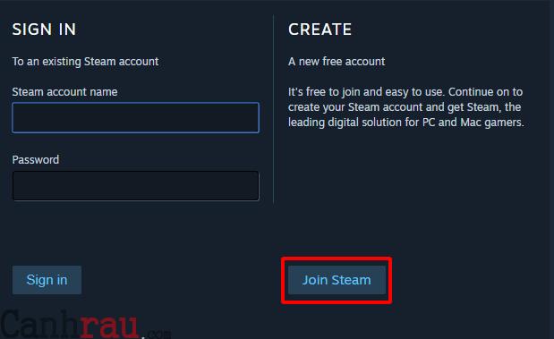 Cách tạo tài khoản Steam mới nhất hình 2