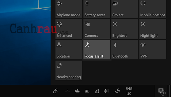 Cách tắt tất cả thông báo trên Windows 10 hình 14