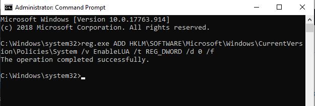 Cách tắt User Account Control trên Windows 10 hình 6
