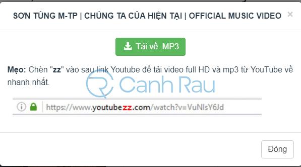 Chuyển Youtube sang MP3 hình 12