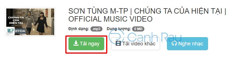 Chuyển Youtube sang MP3 hình 8