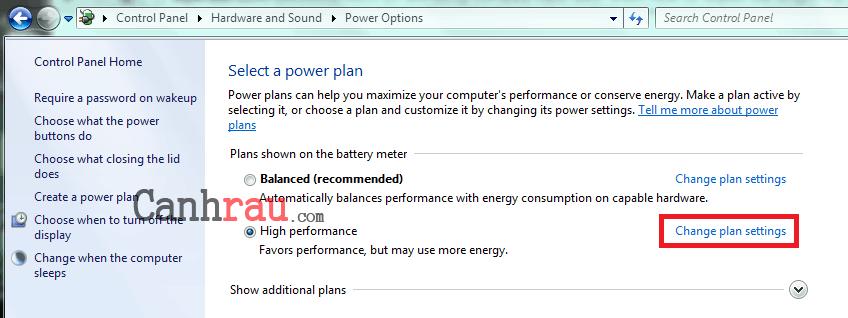 Hướng dẫn chỉnh độ sáng màn hình máy tính laptop Windows 7 hình 5