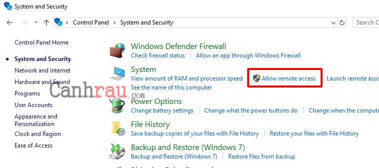 Hướng dẫn sử dụng remote desktop connection trên windows 10 hình 6