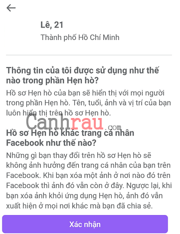 Hướng dẫn sử dụng tính năng hẹn hò trên Facebook hình 7